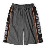 Logo Mesh Shorts - grey